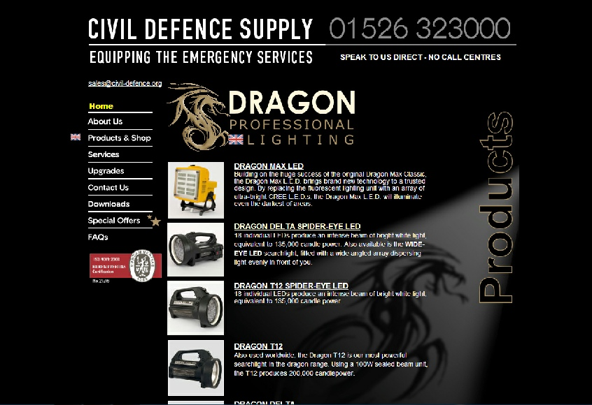 CLICK Here to go direcly to the Civil Defence Supply e-Commerce web site