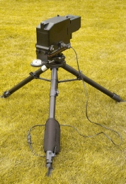 GL3 on tripod illustrating the compact design
